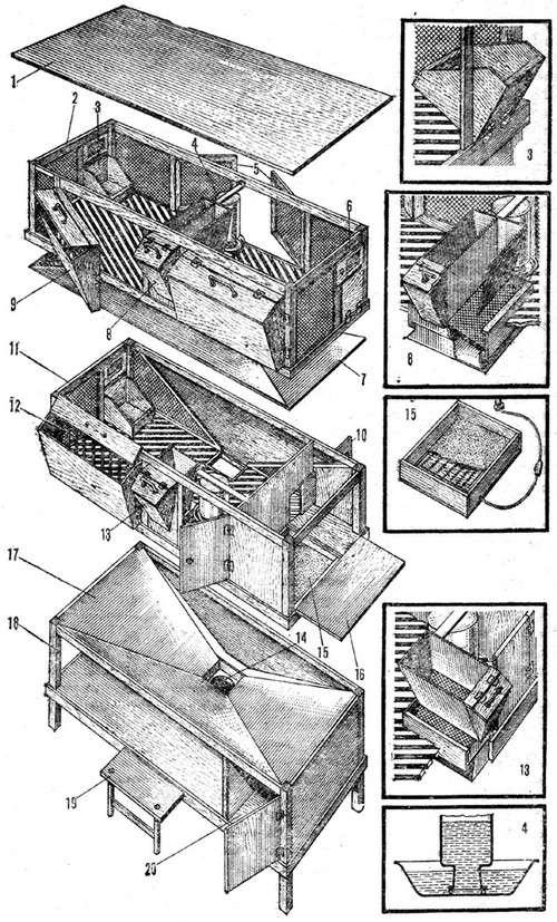 План минифермы