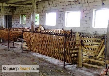 Оборудование овчарни