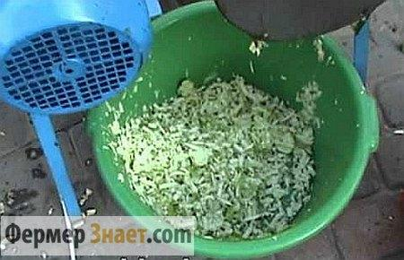 Измельченный корм