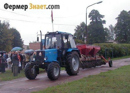 Прицепное оборудование для посева