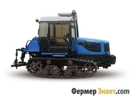 Макет трактора ДТ 75