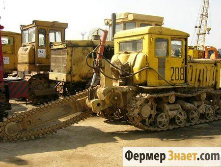 Трактор с баровой машиной