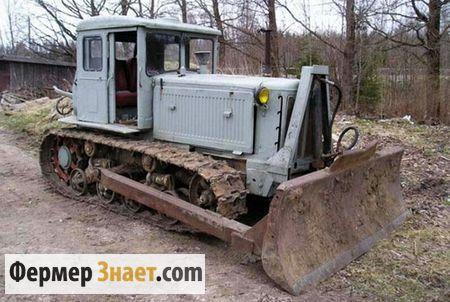 Бульдозер на базе трактора Т-74