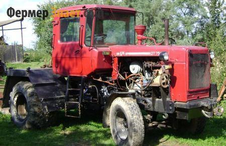 вес трактора дт 75 старого образца - фото 10