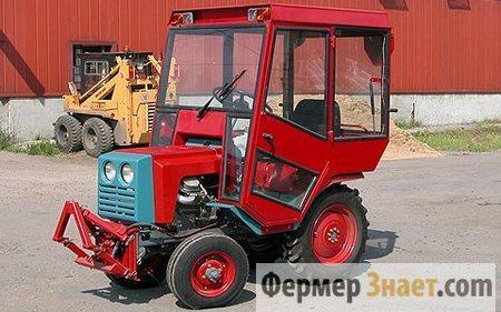 Мини-трактор с кабиной