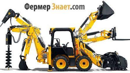 Навесное оборудование для мини-трактора