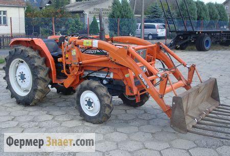 Мини-трактор KUBOTA L 3202 DT
