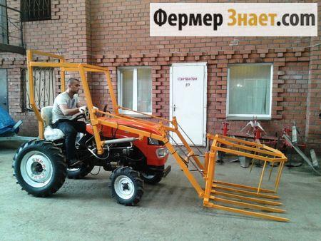 Уралец-180 с стогометом