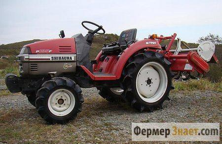 Мини-трактор из Японии SHIBAURA P185F