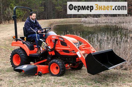 Мини-трактор Kioti-CS2410