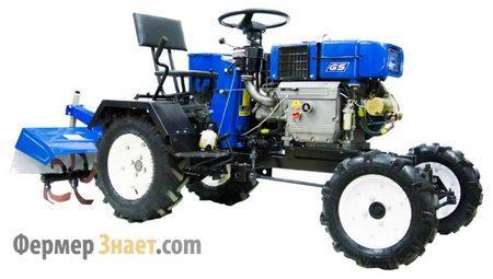 Мини-трактор Скаут GS-M12DE