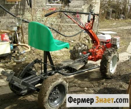 "Мини-трактор из мотоблока ""Агро"""