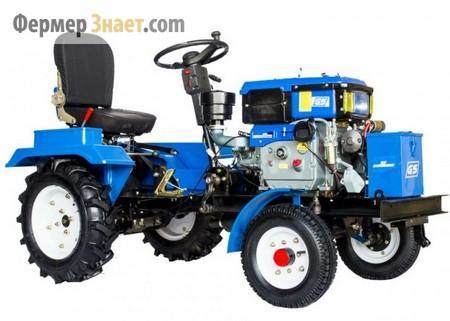 Мини-трактор Скаут GS-T12 MDIF