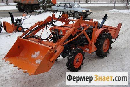 Ковш для мини-трактора заводской