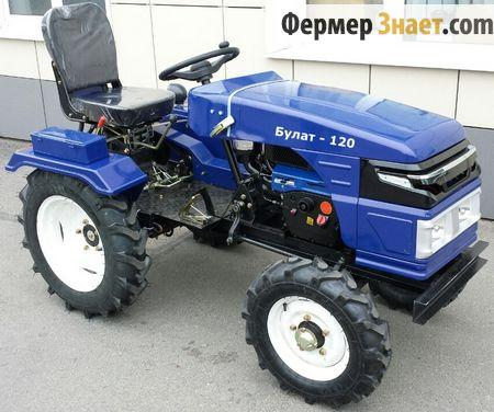 Мини-трактор Булат-120 NEW
