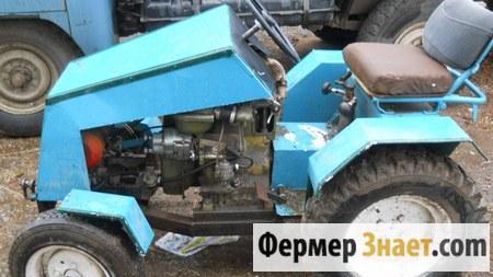 "Мини-трактор из мотоблока ""МТЗ-05"""