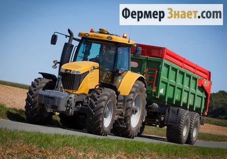 Трактор Челленджер МТ 500D