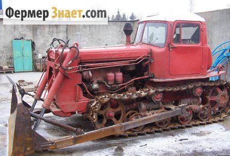 Гусеничный трактор ДТ-75М