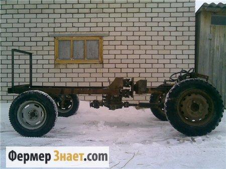 Ломающаяся рама для трактора