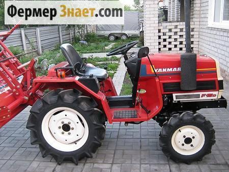 Мини-трактор 4WD Yanmar F15D