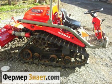 Гусеничный мини-трактор
