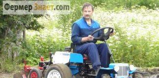 Мини-трактор из мотоблока Нева