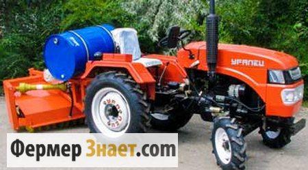 Мини-трактор с навесным оборудованием