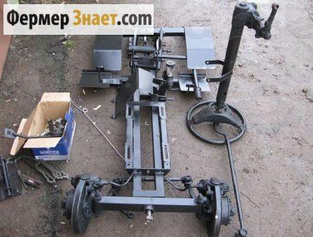Рама для мини-трактора