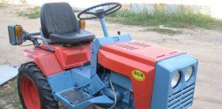 Мини-трактор КМЗ-012